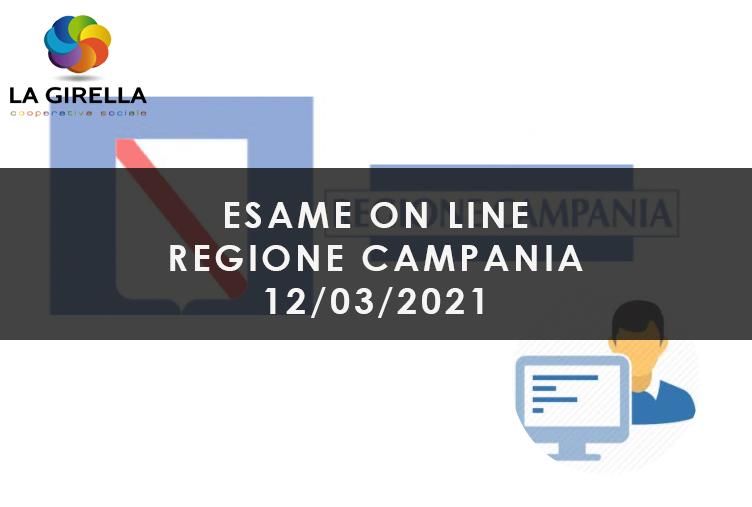 Sessione Esame - OnLine - 15/04/2021
