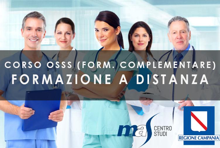 Corso Operatore Socio Sanitario Specializzato - ED3